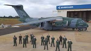 NewsAvia | Força Aérea Brasileira recebe terceiro avião C-390 Millennium