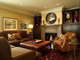 Indoor:Simple Modern Interior Design Ideas Family Room With Luxury  Fireplace Design Plus Wall Decoration