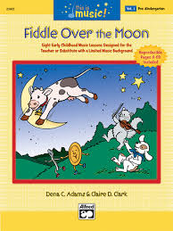 Over The Moon Design Ltd This Is Music Vol 1 Fiddle Over The Moon Comb Bound Book