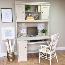 White desk with hutch Farmhouse Hutch Desk White Desk With Hutch Vintage Hip Decor Hutch Desk White Desk With Hutch Vintage Home Decor