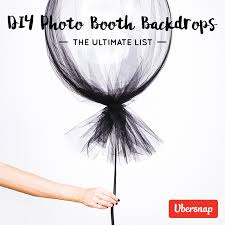 diy photo booth backdrops the ultimate list 80 step by step tutorials
