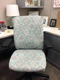 office chair seat and back covers with monogram dorm chair office chair slipcover a furniture office office chair slipcover