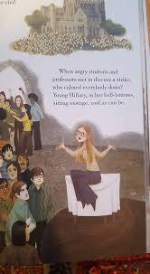 reddita hillary clinton children s book young hillary talking down a strike