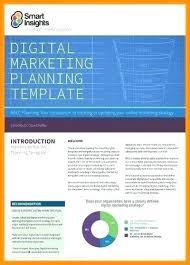 Digital Marketing Strategy Template 2017 Plan