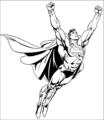 Superman coloring pages for kids. Superman Coloring Pages