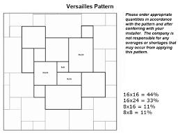 Versaille Pattern