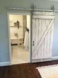 shabby chic z sliding barn door white barn by doorsbydeborahanne