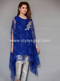 Famous Dress Designers 2017 Latest Pakistani Cape Style Dresses 2019 2020 Top Designer