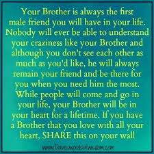I Love My Brother Quotes Impressive I Love My Brother Quotes Brothers A Sayings Like Favorite Beautiful