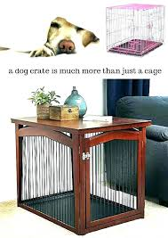 dog crates as furniture. Plain Crates Furniture Dog Crates Decorative Crate Double  Dual That Eye Best Wooden Uk On As