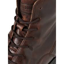 jack jones mens high leather orca high biker boots brown stone shoes jean scene