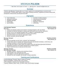 Spa Therapist Resume Sample Jd Templates Spa Therapist Job Description Template Best Lead 3