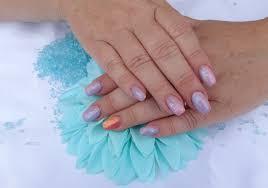 Gelové Nehty Inspirace č69 Ombré Magic Nails Gelové Nehty