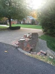 mailbox landscaping with culvert. Plain Culvert On The Other Side Of Driveway Is Another Low Brick Wall And Our Mailbox  In Recent Years Mailbox Has Been Spalling Badly For Mailbox Landscaping With Culvert