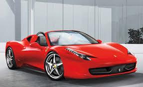 Ferrari 458 Spider Idrive