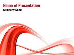 Abstract Red Wave Powerpoint Templates Abstract Red Wave