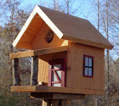 unique fancy bird house plans