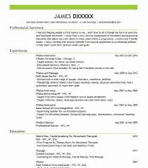 Modern Resume For Instructors Pilates Instructor Resume Sample Instructor Resumes