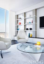 Jennifer Post Design Shop The Look Of A Minimalist High Rise In One57 New York
