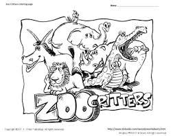 Small Picture Coloring Book Pages Of Zoo Animals Coloring Coloring Pages