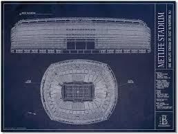 New York Giants Jets Metlife Stadium Print Distinct Print