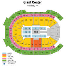 Giant Center Seating Chart Hershey Giant Center Wwe Related Keywords Suggestions