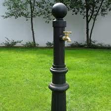 decorative faucet post improvements at