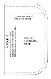 Eyeglass Case Pattern   quilts   Pinterest   Patterns, Sewing ... & Eyeglass Case Pattern Adamdwight.com