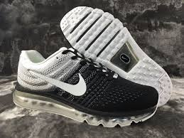 nike running shoes white air max. air max 2017 flyknit black white shoes nike running