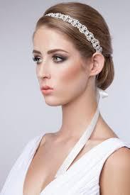 Wedding Hair With Rhinestone Headband