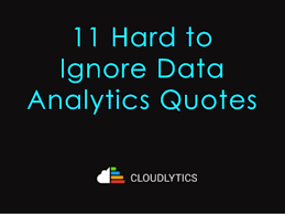 Data Quotes Best 48 Hard To Ignore Data Analytics Quotes
