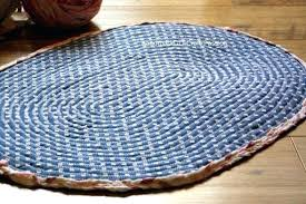 denim rug diy rag rug bottom of braided no sew denim rag rug diy braided denim