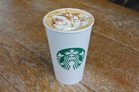 pumpkin e latte showdown starbucks