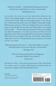 essays after eighty donald hall amazon com books