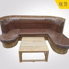 antique furniture elm wood furniture wood sofa cushion sofa chair