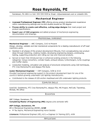 Engineering Resumes Examples Engineering Resume Examples Resume Pro 3