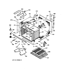 general electric jtp13gt1bb electric wall oven timer stove jtp13gt1bb electric wall oven body parts diagram
