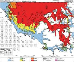 Example Of Weekly Ice Chart For The Western Canadian Arctic
