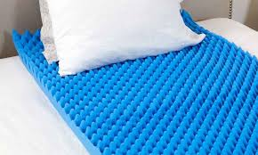 Hermell Convoluted Egg Crate Mattress Pad Groupon