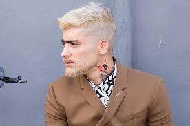 zayn malik dyes his hair and beard bleach blond