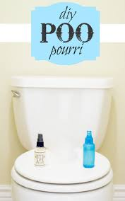 toilet with pou pourri spray
