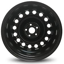 Road Ready Car Wheel For 2011 2017 Chevrolet Cruze 16 Inch 5 Lug Black Steel Rim Fits R16 Tire Exact Oem Replacement Full Size Spare