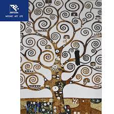jy17hks001 broken glass mosaic tree of life
