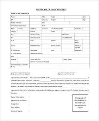 Fitness Assessment Form Custom Sample Physical Fitness Forms 48 Free Documents In PDF