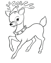 christmas baby reindeer coloring pages. Free Printable Christmas Coloring Pages Rudolph Baby Reindeer Page For Kids Of