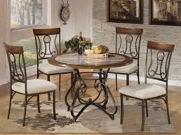 hopstand 5pcs dining set home dining room round