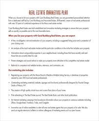 best real estate marketing plan