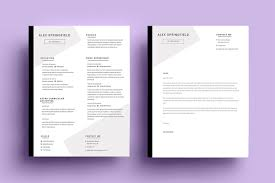 """creative résumé templates that you may find hard to believe are    resume cv – """"springfield""""  image via angle"""