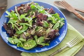 simple mixed green salad. Contemporary Simple With Simple Mixed Green Salad