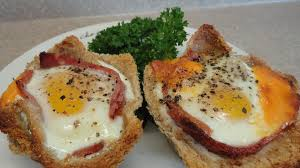 Ham and Egg Breakfast Cups -with yoyomax12 - YouTube